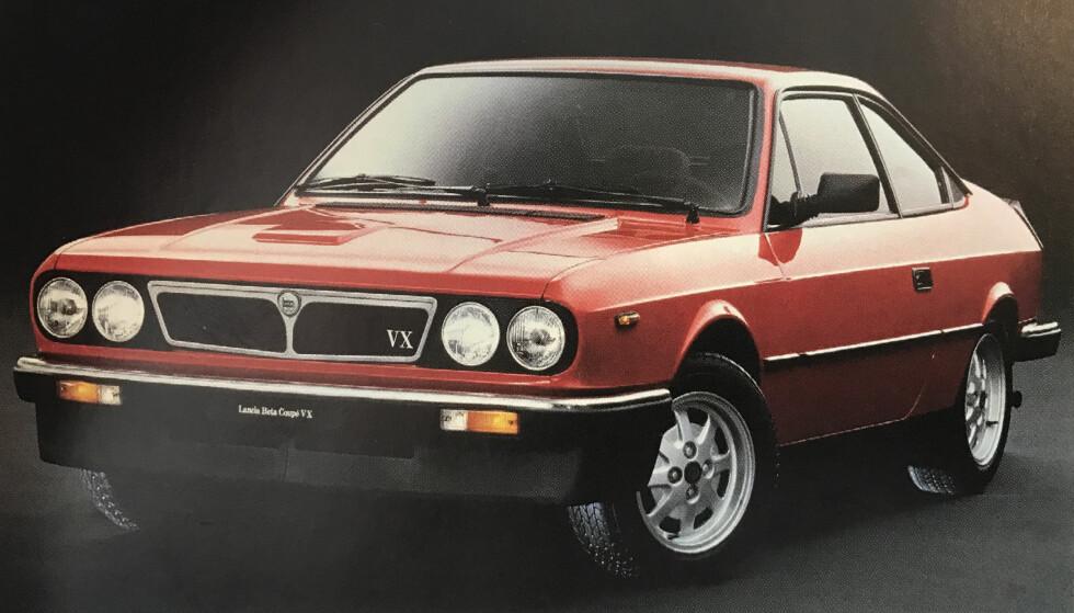 PRØVEEKSEMPLAR?: Lancia Beta.