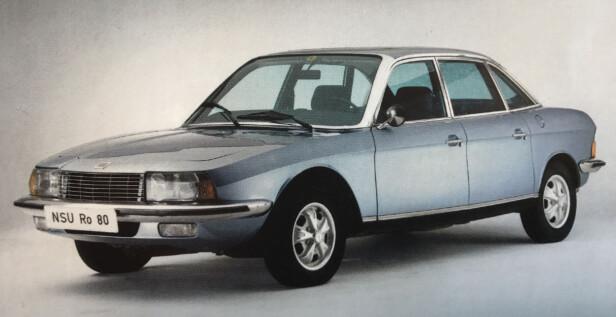 FIKK PRISEN FOR TIDLIG: Juryen av Årets bil burde nok ventet litt lenger, før de vurderte NSU RO 80.