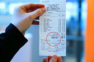 image: Ta en ekstra titt på regningen når du er i Storbritannia