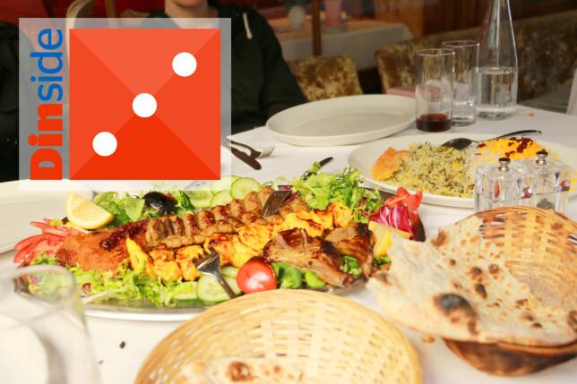 TERNINGKAST 3 TIL IRAN: Grei mat, men ikke noe mer enn det. Foto: Kristin Sørdal
