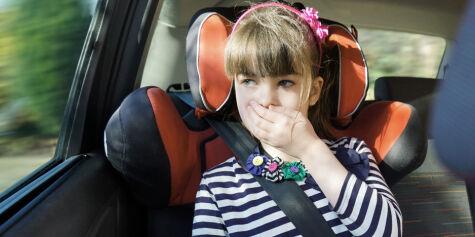 image: 10 minutter er nok til å bli bilsyk