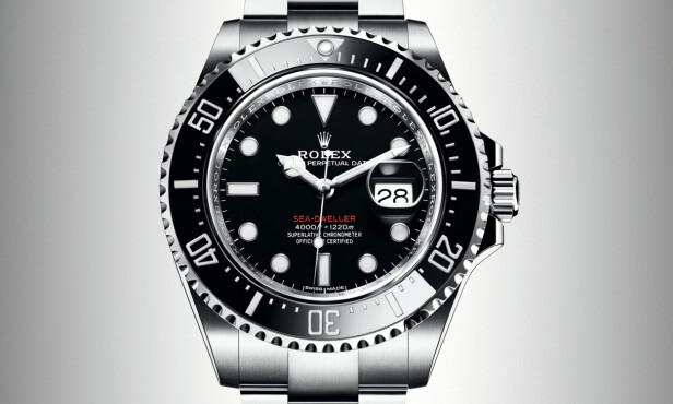 VANNTETT TIL 1.220 METER: Rolex Sea-Dweller. Foto: produsenten.