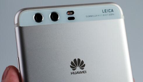 DOBBELT OPP: Huawei-toppmodeller av nyere årgang har alle to kameraer på baksiden. Foto: Pål Joakim Pollen