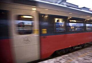 Flere togforsinkelser i fjor