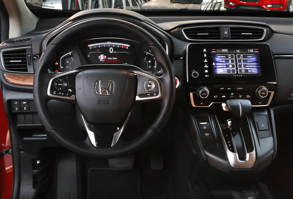 OPPGRADERT: Honda CR-V har fått sin første overhaling siden 2012, og høster godt av det. Foto: AP Photo/Paul Sancya