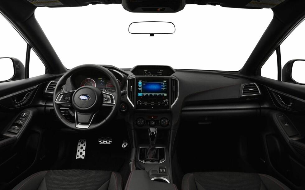 «IMPRESSIVE»: Subaru Impreza.