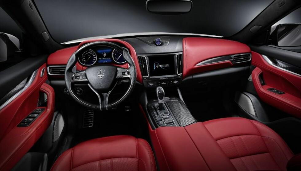 LEKKER: Maserati Levante.