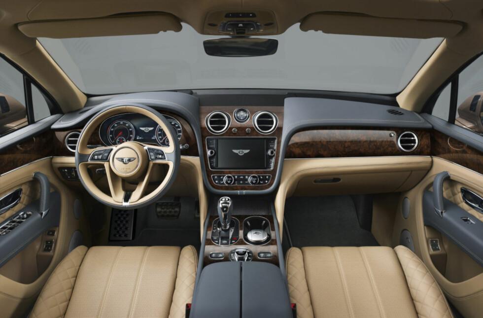 RÅSKINN: Bentley Bentayga.