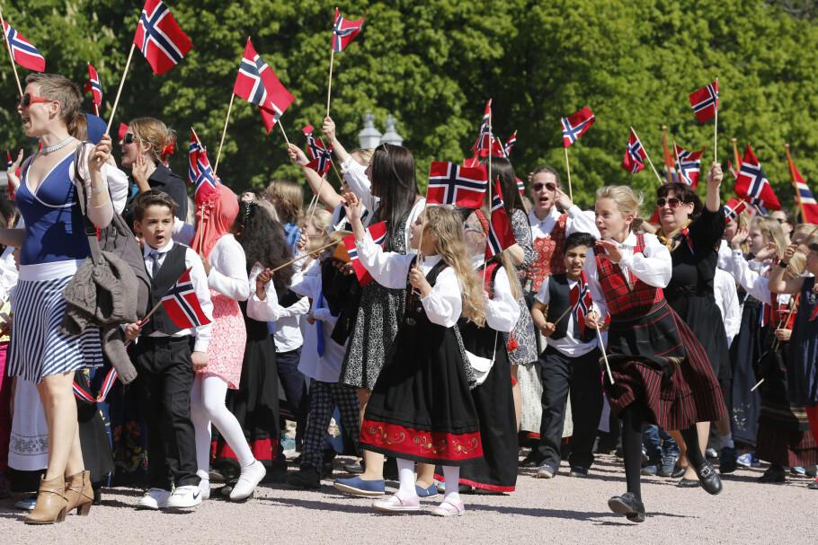 HURRA FOR EKSTRA-FRI: I år får vi full uttelling for alle ekstra fridager i mai og juni, i forbindelse med 1. mai, 17. mai, Kristi himmelfartsdag og pinsa. Foto: Lise Åserud/ NTB Scanpix
