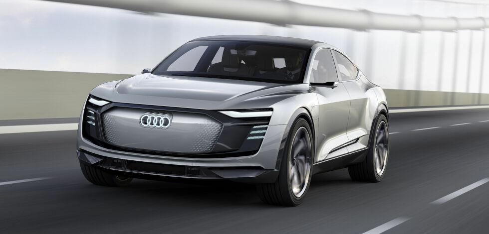 image: Audis første elbiler kommer snart