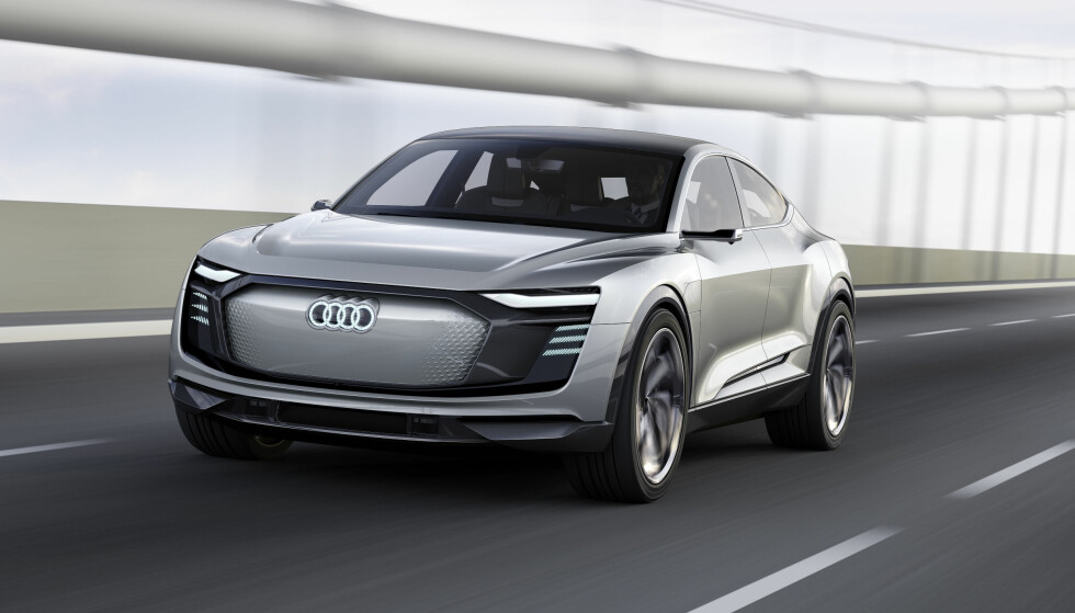 KOMMER I 2019: Audi e-tron Sportback concept. Foto: Audi