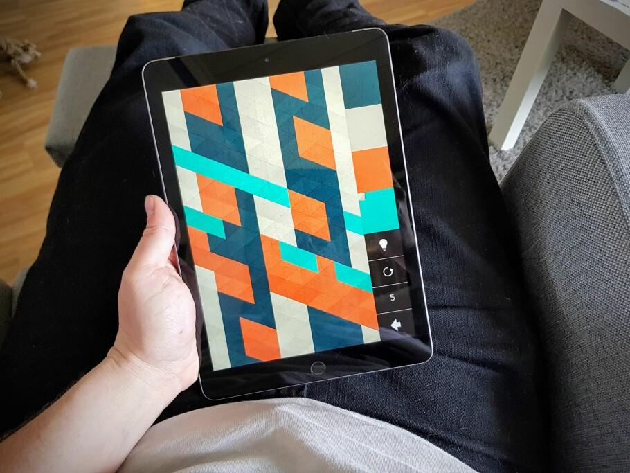 NY UTGAVE: Men det er lite nytt med 2017-utgaven av iPad. Foto: Pål Joakim Pollen
