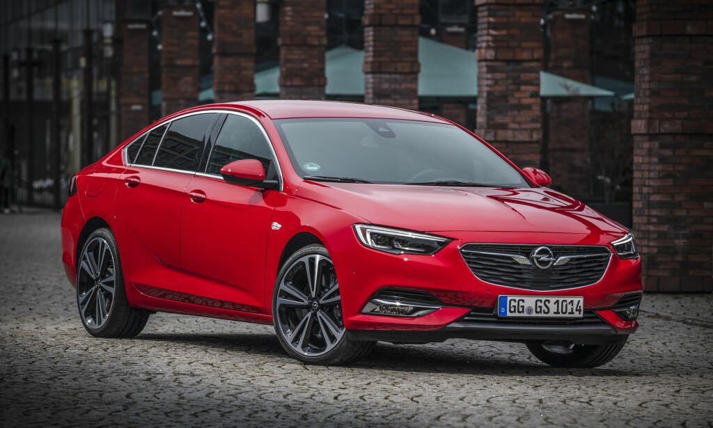 VAKKER: Smaken er som baken, men Insignia faller på den positive siden. Foto: Opel
