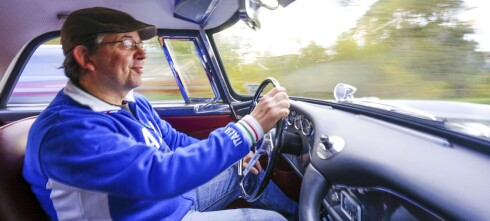 Det tok Mads tre år å pusle sammen sin egen Maserati