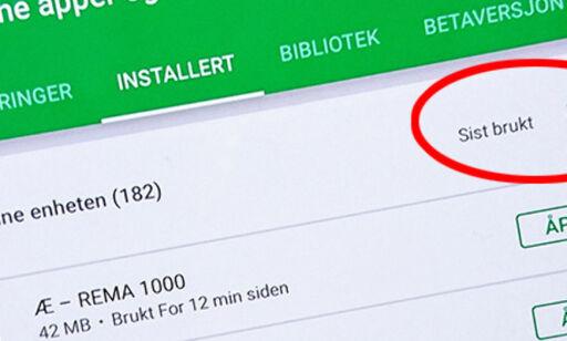 image: Nå er det enklere å slette appene du aldri bruker
