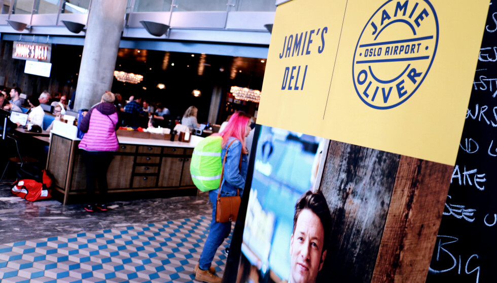 <strong>MANGE NYE:</strong> Jamie Oliver er blant de nye på Gardermoen, med to serveringssteder: En restaurant på utland og en deli på innland. Foto: Ole Petter Baugerød Stokke