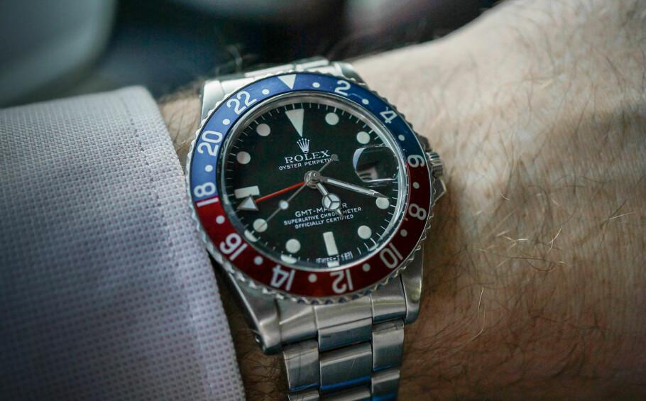 GAMLE KLOKKER: Eldre modeller fra merker som Rolex er blant klokkene som kan være verdt mye. Foto: Tidssonen.no