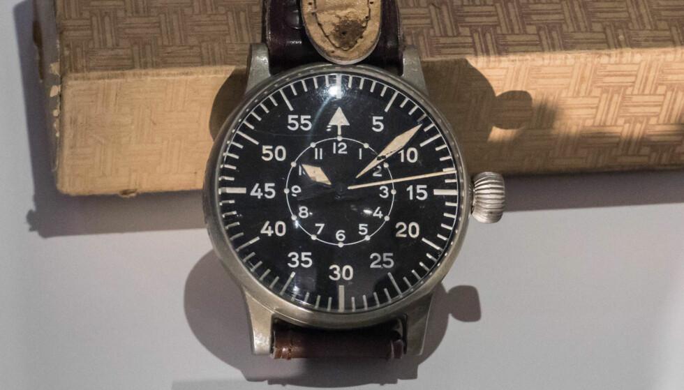 HISTORIE: Militære klokker er blant de mest populære blant ur-samlere. Foto: Tidssonen.no