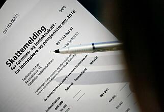 Over 55.000 får ikke skatteoppgjøret på konto