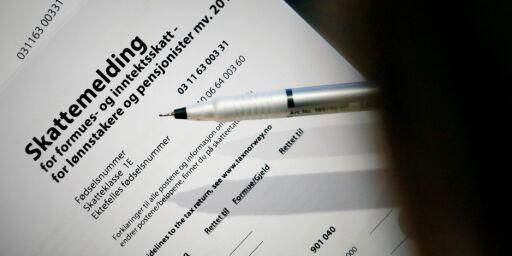 image: Over 55.000 får ikke skatteoppgjøret på konto
