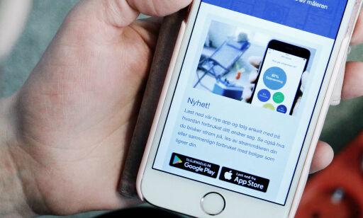 image: Appen skal gi vise deg hva du bruker strøm på, men det er én hake ...
