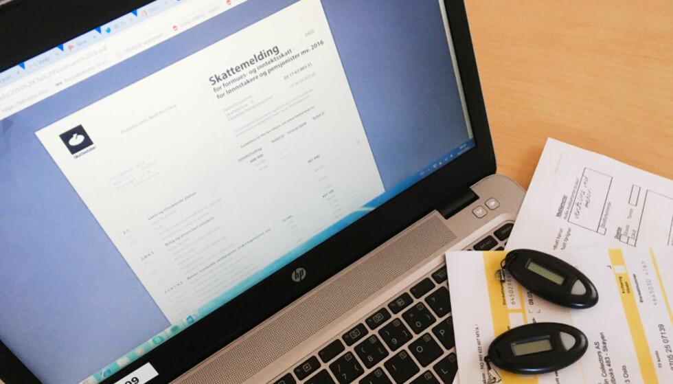 DU KAN LEVERE I DAG: 2. mai er den reelle fristen for levering av årets skattemelding. Foto: Berit B. Njarga