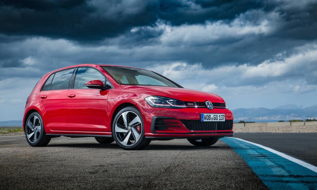 VWs BESTSELGER: Volkswagen har solgt mer enn 30 millioner Golfer siden 1974. Foto: Volkswagen