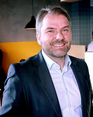 VIL DOMINERE: DNBs Geir Øiestad og resten av Vipps-gjengen nøyer seg ikke med vennebetalinger. Vipps skal kunne brukes til alt. Foto: Ole Petter Baugerød Stokke