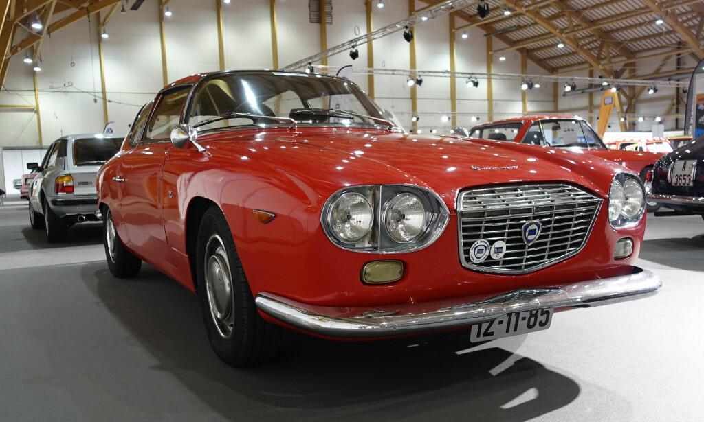 Denne flotte Flavia Sport Zagato fra 1964 tilhører Harald Bergsaker, formann i Lancia-klubben. Med 1,8-liters motor og to doble Weber-forgassere, var den god for 105 hestekrefter og 187 kilometer i timen! Foto: Knut Moberg