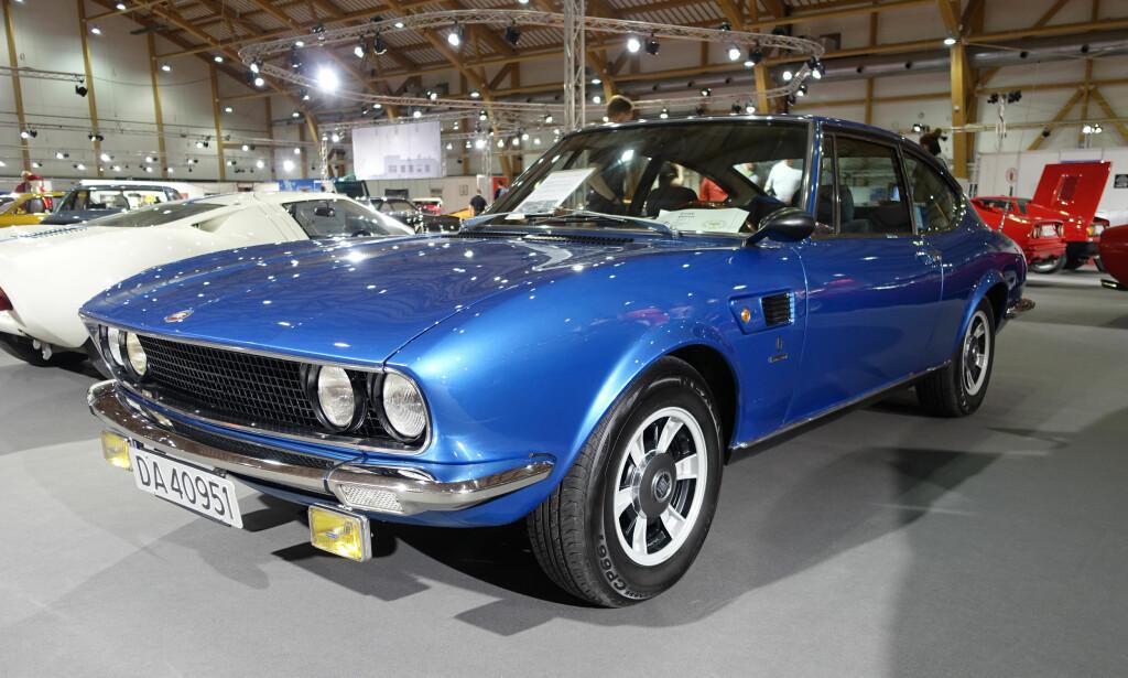 JUKSE-FERRARI? Den vakre sportsbilen ble til fordi Ferrari trengte stort nok produksjonsvolum for sin V6-motor beregnet for Formel 2-racing. Bilen var utstyrt med en 2,0-liters V6 fra 1966 til 1969 og med en 2,4-liter fra 1969 til 1973. Foto: Knut Moberg