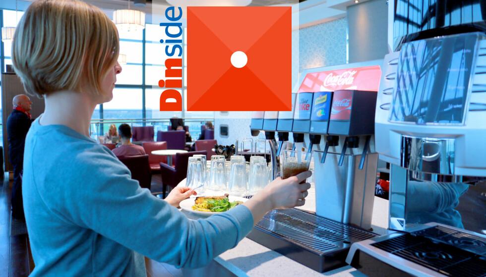 NEI, BRUK PENGENE PÅ NOE ANNET: Vi synes ikke opplevelsen på Aspire Lounge på Heathrow terminal 5 er verdt pengene. Foto: Kristin Sørdal
