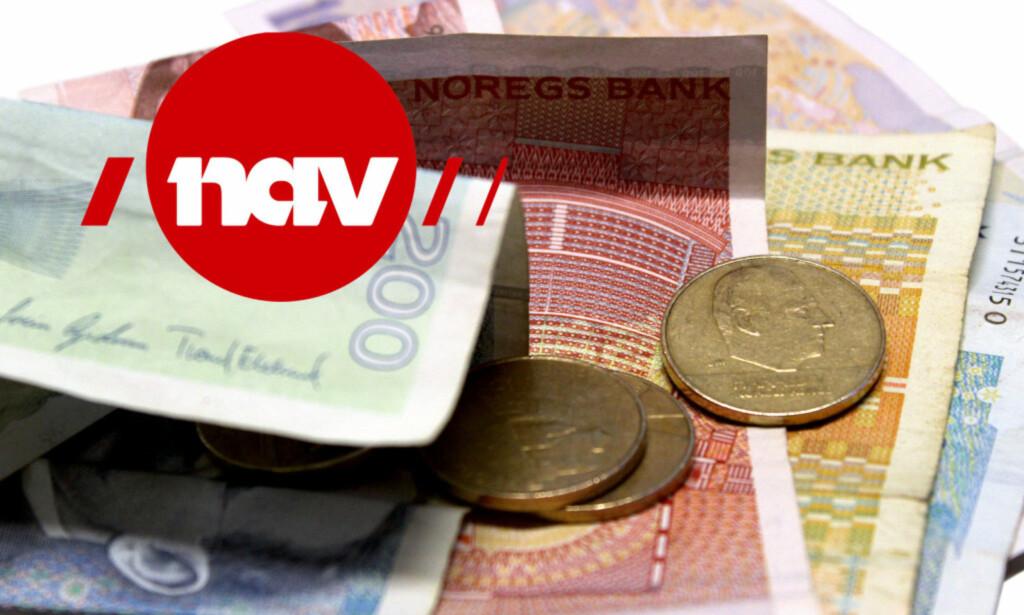 MER PENGER TIL KONTROLL: Regjeringen vil gi Nav 30 millioner mer i 2017 for å avdekke feilutbetalinger. Foto: Ole Petter Baugerød Stokke <div><br></div>