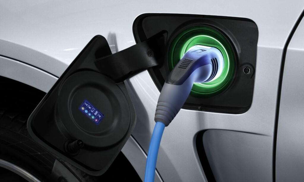 Stor avgiftsrabatt: Enhver hybrid med ladekabel får store avgiftsrabatter - fortjent eller ikke. Foto: BMW