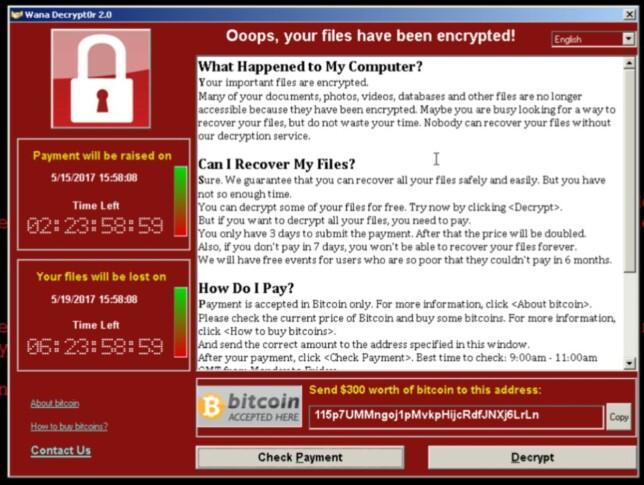 Når filene er kryptert, får brukeren mulighet til å betale for å låse dem opp. I dette tilfellet 300 dollar om man er rask, eller 600 dollar om man venter i tre dager. Skjermbilde: Cisco