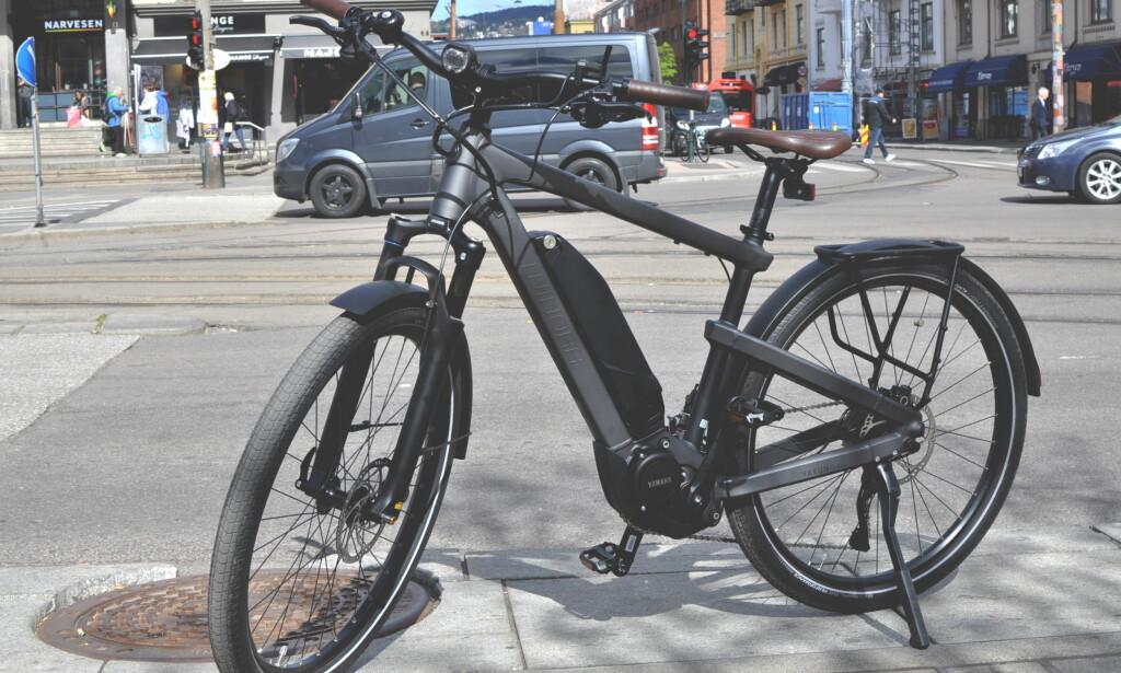 SELGSSUKSESS: I 2012 ble det solgt 2.000 elykler i Norge. I 2017 forventes 80.000 å trille ut fra sportsbutikkene landet rundt. Foto: Tore Neset
