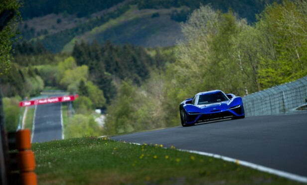 FARTSFANTOM: NextEV Nio EP9 satte ny rekord rundt Nürburgring i mai.