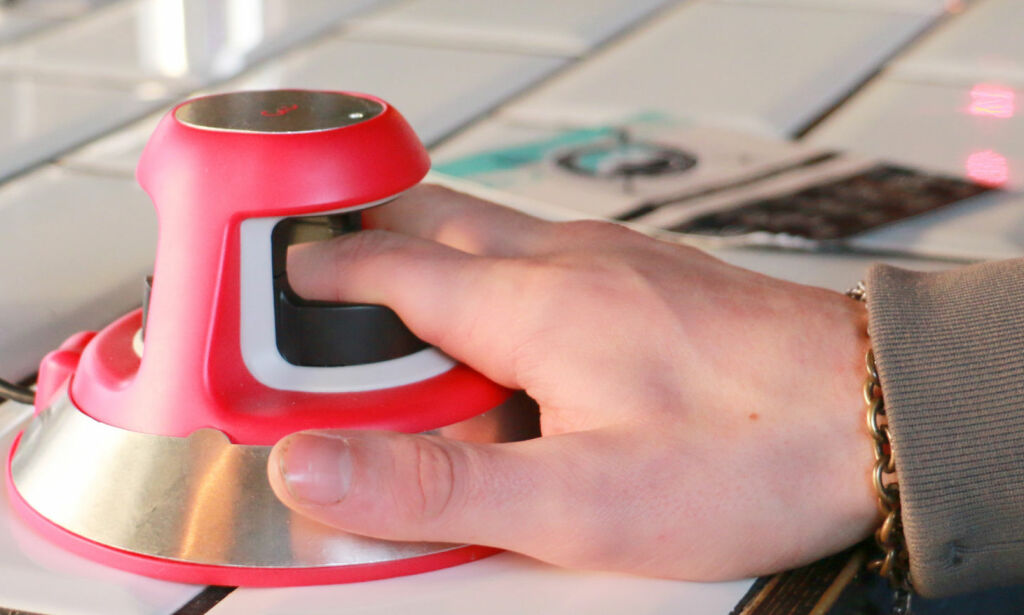 image: Her betaler du med fingeren - ikke med fingeravtrykk