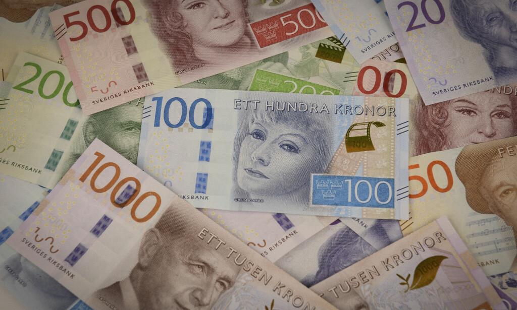 NYE SEDLER: Slik ser de nye sedlene ut. Foto: Riksbanken