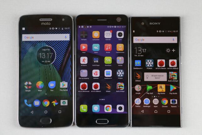 image: Tre telefoner til 3.000 kroner. Hvilken bør du velge?