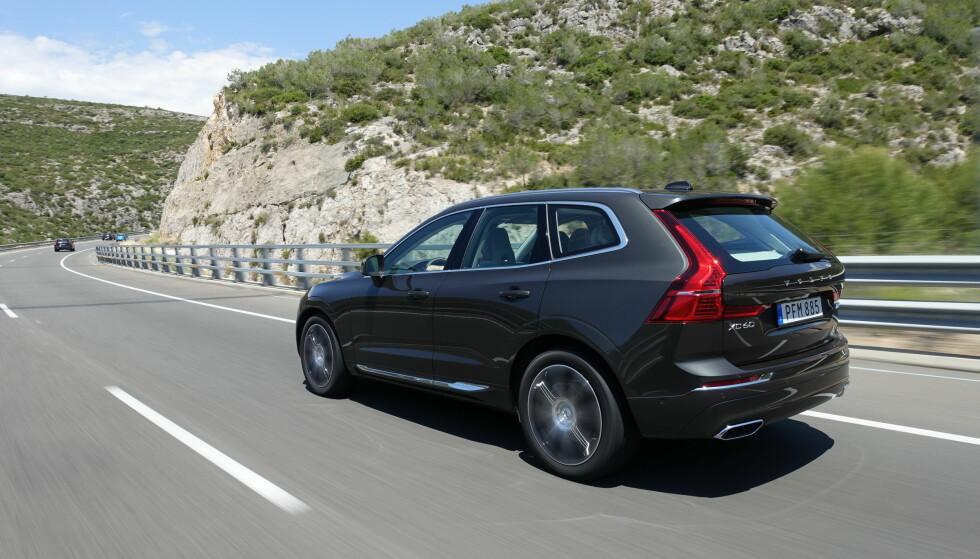 KJENT SAK: Den nye Volvo XC60 er lett å kjenne igjen som en Volvo. Foto: Fred Magne Skillebæk