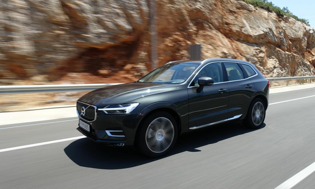 LOVER GODT: Volvo har vokst kraftig og med nye XC60 (bildet), i porteføljen tegner det bra også for fortsettelsen for den kinesisk-eide svensken. Foto: Volvo