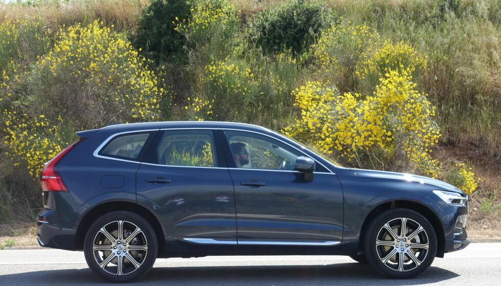 GOD PÅ VEIEN: Upåklagelig komfort og mer sportslighet enn XC90 gjør XC60 til en modell med sin egen personlighet i Volvos produktspekter. Foto: Fred Magne Skillebæk