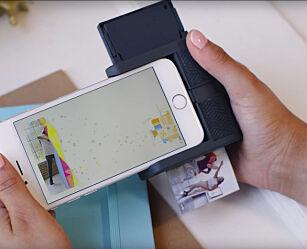 image: Skriver ut mobilbilder på papir og gjør dem «levende»