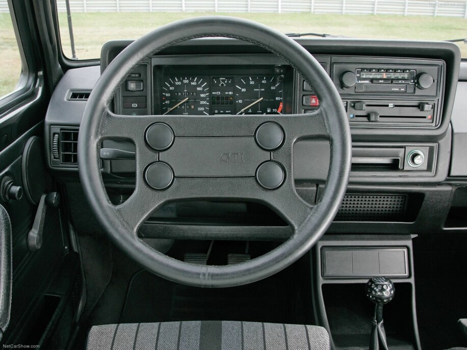 Volkswagen Golf GTI Mk1 fra 1976.
