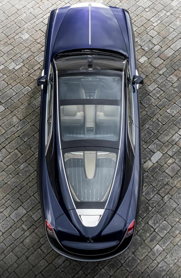 MARITIM INSPIRASJON: Det er lett synlig hvor designelementene som gir bilen dens spesielle fasong er hentet fra. Bilens kjøper har arbeidet tett med designerne for å få den akkurat slik han ville ha den.