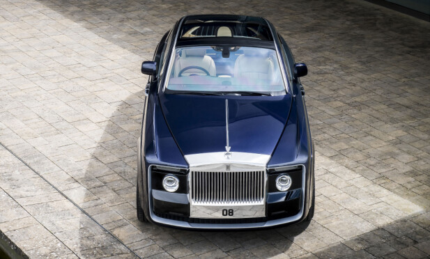 KOSTBAR: Prisen er oss ikke bekjent, men den er høy. Svært høy... Foto: Rolls-Royce