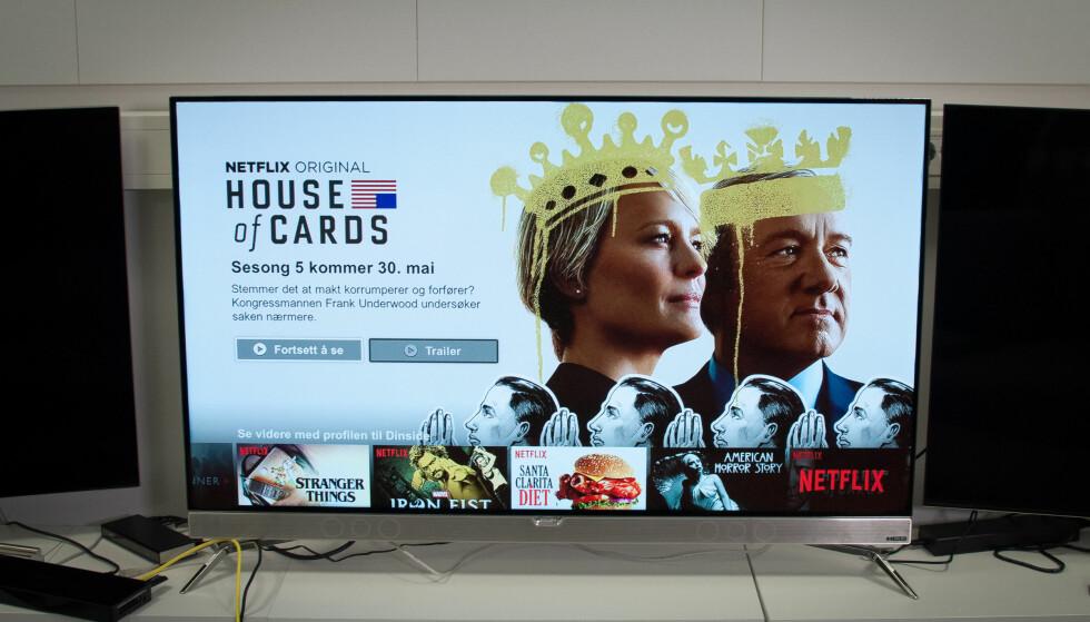 DEBUT: 901F er Philips' første OLED-TV, men den har allerede en arvtaker på vei. Foto: Gaute Beckett Holmslet