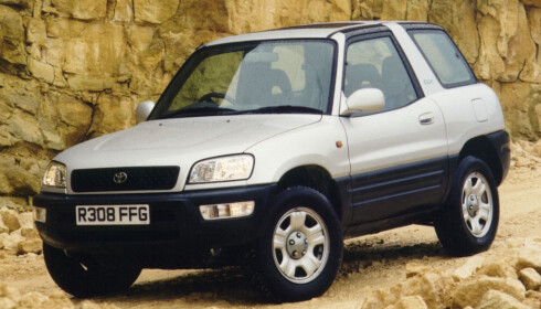 TIDLIG UTE: Toyota Rav4 fra 1996.