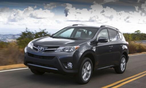 ANNERLEDES: Toyota Rav4 fra 2013. Foto: Toyota