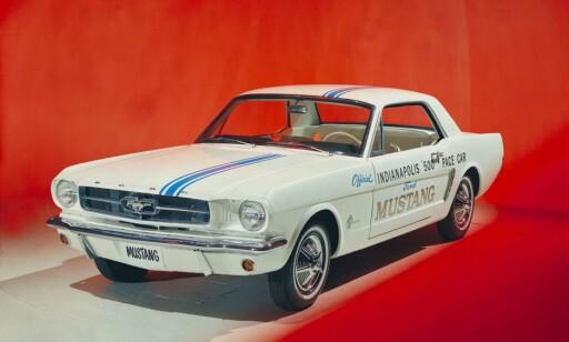 FOR ARBEIDEREN? Ford Mustang fra 1964.